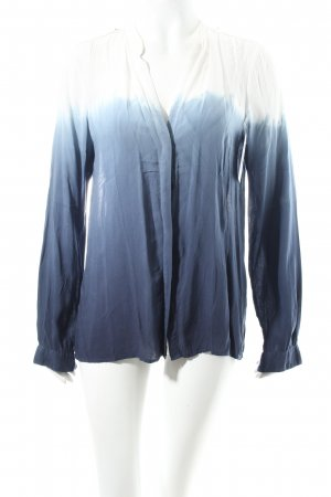 Zara Schlupf-Bluse Farbverlauf Schulterklappen