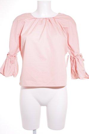 Zara Schlupf-Bluse hellrosa Romantik-Look