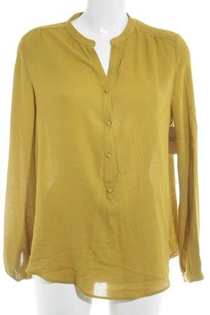 Zara Blouse à enfiler jaune citron vert style décontracté