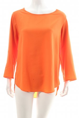 Zara Schlupf-Bluse orange Business-Look