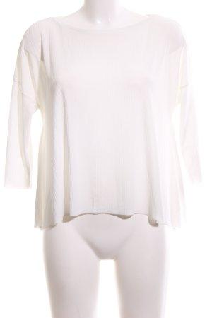 Zara Slip-over blouse wit casual uitstraling