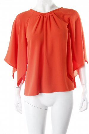 Zara Schlupfbluse orange