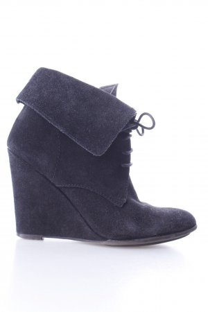Zara Bottines à lacets noir