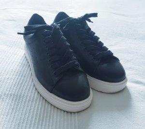 ZARA schöne Sneaker schwarz Gr.36 mit Plateausohle ☆ wie neu ☆