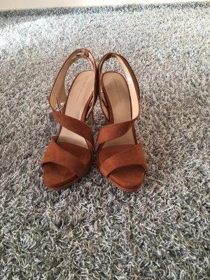 Zara High-Heeled Sandals multicolored