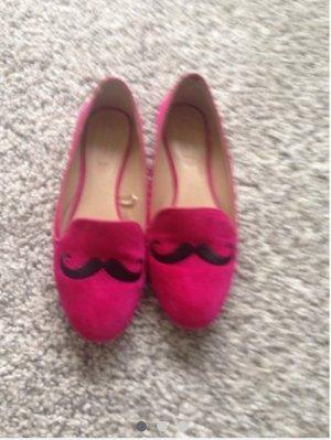 Zara Schuhe mit Schnurrbart 40