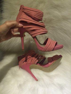 Zara Schuhe Sandalen rosa neu