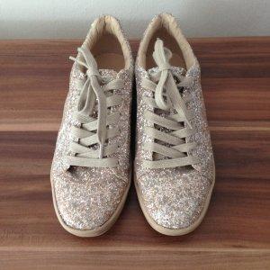 Zara Schuhe / Zara Glitzer Sneakers in 37