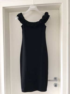 Zara schulterfreies Kleid