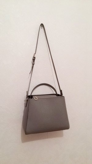 Zara Shoulder Bag silver-colored-grey