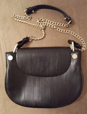 Zara - schwarz goldene edle Tasche