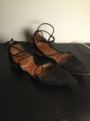 Zara schwarze Ballerinas