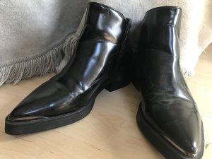 Zara schwarze Boots