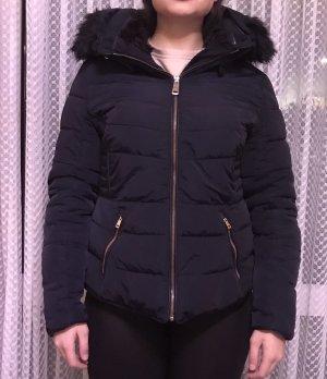 Zara Basic Veste d'hiver noir