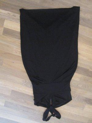 Zara schwarzes Neckholderkleid Gr. M