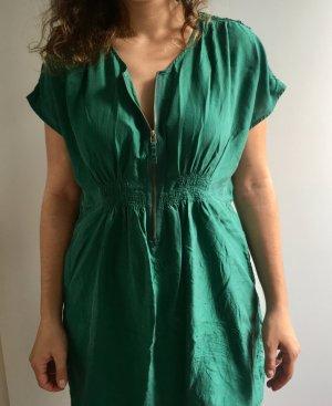 Zara Robe courte doré-vert forêt