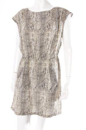 Zara Seidenkleid Animalprint