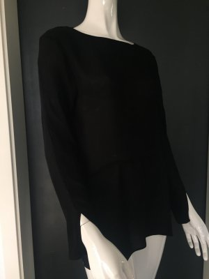 ZARA Sexy back Bluse Gr. M — Schwarz