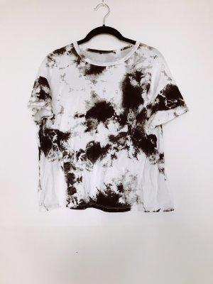Zara Batik shirt zwart-wit
