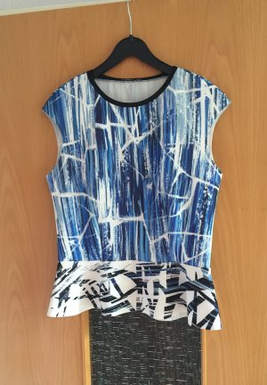 Zara Top taille empire multicolore