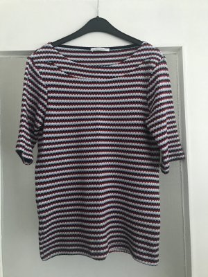 Zara Geribd shirt veelkleurig