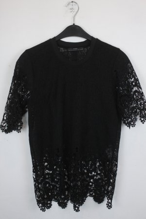 Zara Shirt black polyester