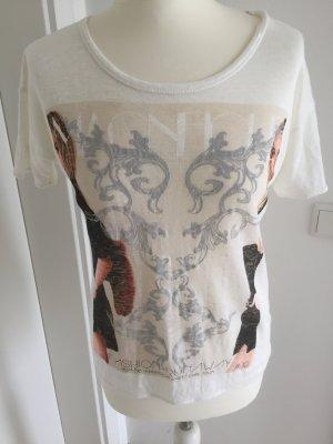 Zara Shirt Größe M wollweiss