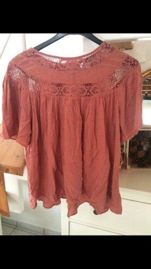 Zara Shirt häkel Details