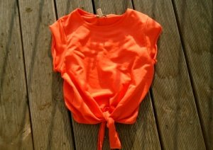 Zara Shirt in Orange Gr.XS