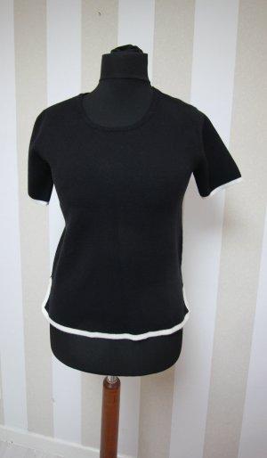 Zara Shirt Kontrast Streifen Detail