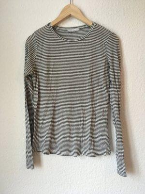 Zara Shirt langarm Gr S Streifen