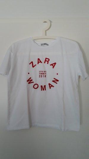 Zara Shirt Logo Gr.S