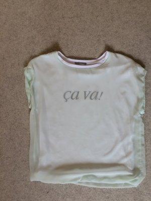Zara Shirt mintfarben