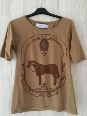 ZARA-Shirt mit Horse-/Glitzer-Print NP: 39,90€