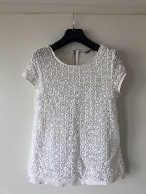 Zara Shirt mit Reißverschluss