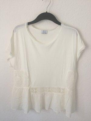 Zara Shirt mit Rüschen Details