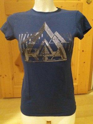 Zara Shirt mit Strass-Besatz