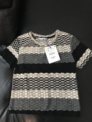 Zara Shirt mit Struktur S