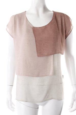 Zara Shirt Patchwork Stil