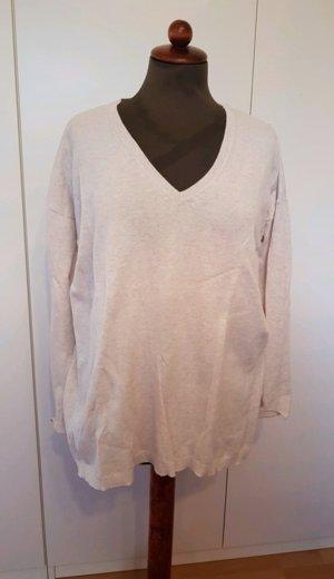 Zara Shirt Pulli s V-Ausschnitt