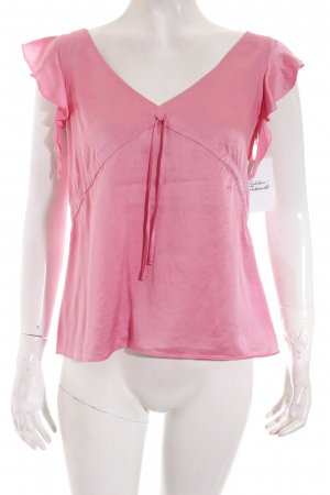 Zara Shirt rosa extravaganter Stil