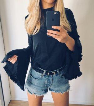 Zara Tunique gris anthracite-noir