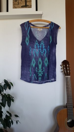 Zara Shirt/Top mit Aztekenmuster