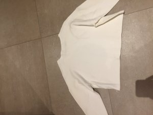 Zara shirt weiss croped