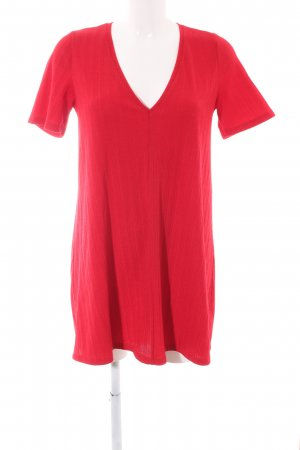 Zara Shirtkleid rot Business-Look