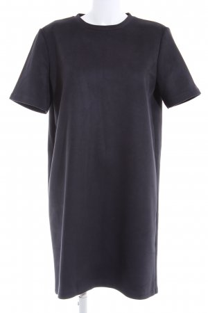 Zara Shirtkleid blau Business-Look