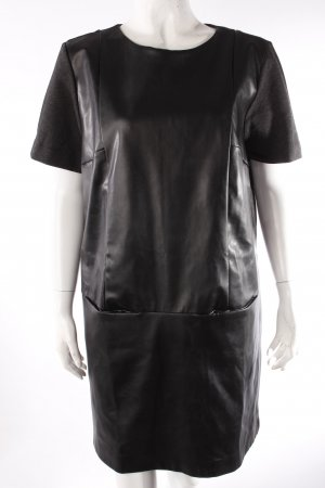 Zara Shirtkleid Materialmix