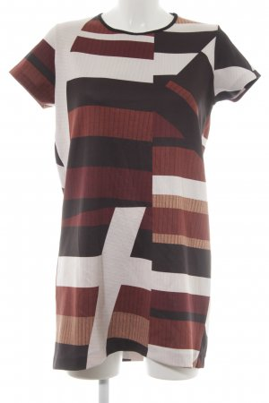 Zara Shirt Dress themed print casual look