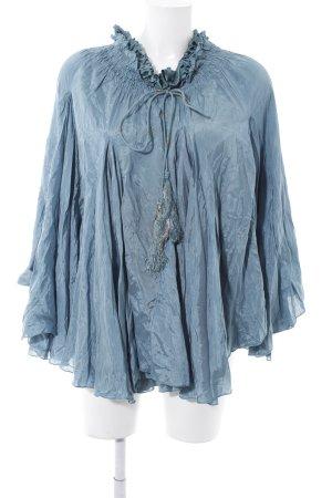 Zara Tunique bleuet style extravagant