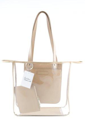Zara Shopper marron clair style décontracté